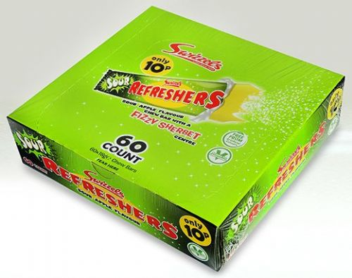 SW11 SWIZZLES SOUR APPLE REFRESHERS CHEW BAR